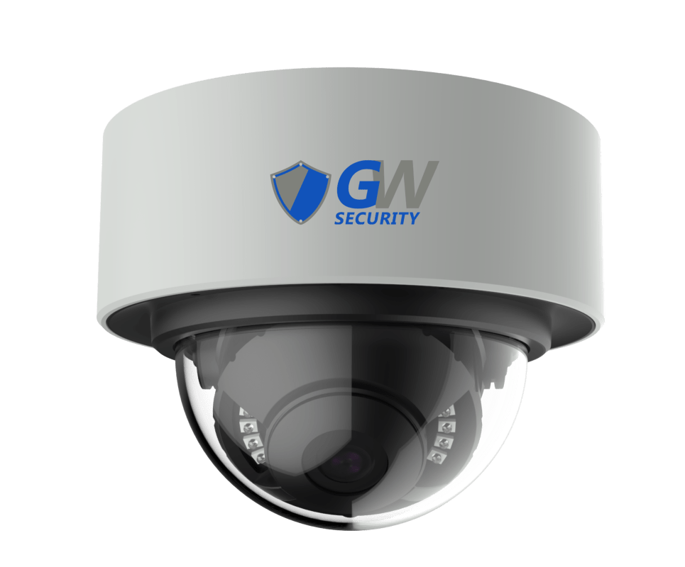 GW8136MIC 8MP 4K IP POE 2.8mm Fixed Lens Dome Security Camera, Built-In Mic, Human Detection, Part of the GW Security Collection of security cameras for sale