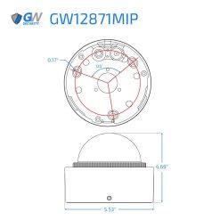 12871MIP dimensions