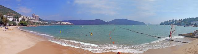 stanley main beach panorama
