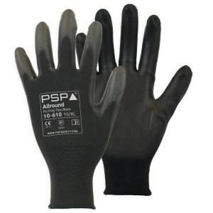 PSP10-610 PU Zwart Werkhandschoen Per 12 Paar