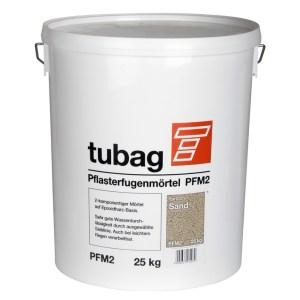 Tubag PFM2 kant en klaar, 2-component voegmortel met regen verwerkbaar