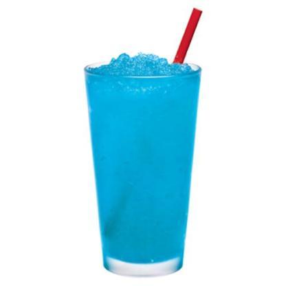 blue bubblegum slush