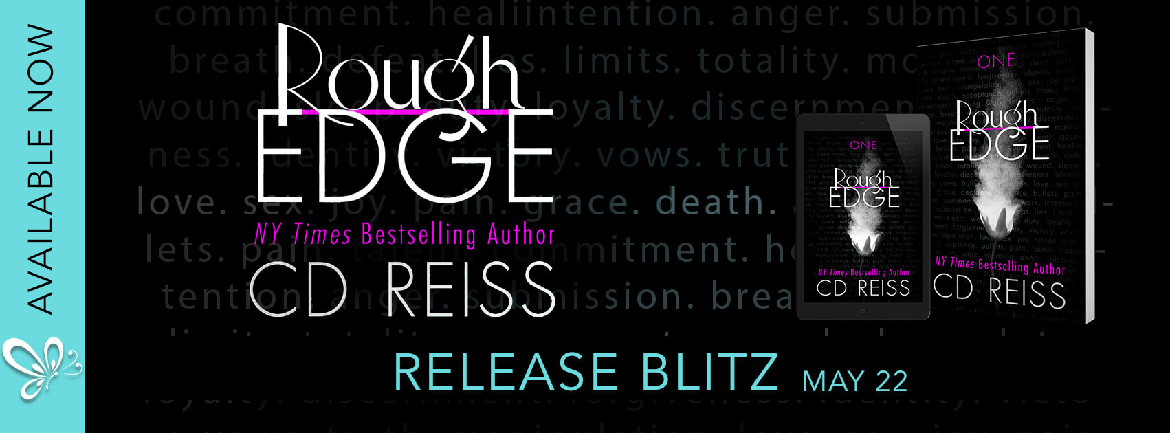 Image result for Rough Edge by cd reiss release blitz