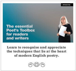 The essential poet's toolbox for readers and writers