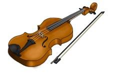 Violin colour concept