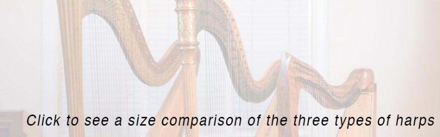 Three Harp Sizes