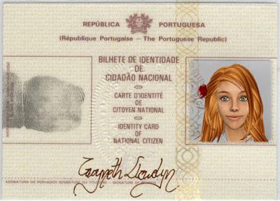 Gwyneth Llewelyn ID Card