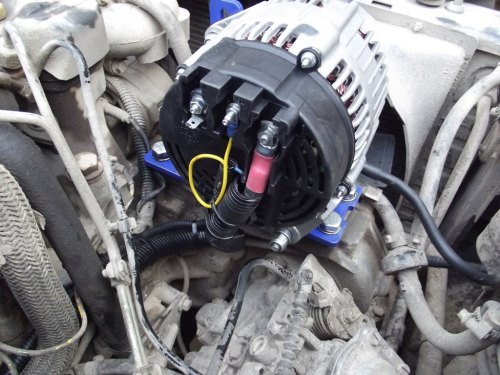 small resolution of hd second twin alternator wiring