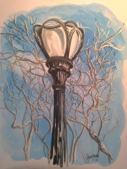 Central Park Lamp