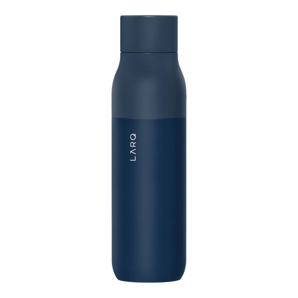 Monaco Blue Double Walled Self-Cleaning Water Bottle 25oz