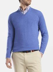 Crown Soft Cashmere V-Neck Sweater (Many Colors)