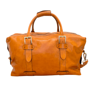 cowhide hand luggage