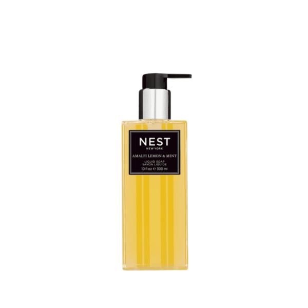 amalfi lemon and mint hand soap product shot