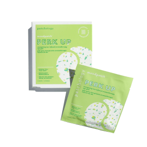 Moodpatch Perk Up Eye Gels Product shot and packaging