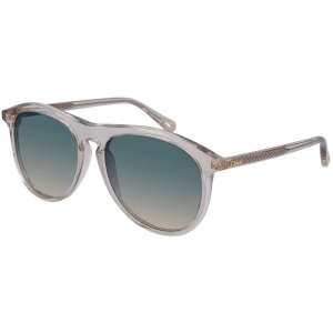 Chloe Transparent Pink Sunglasses product shot front side view