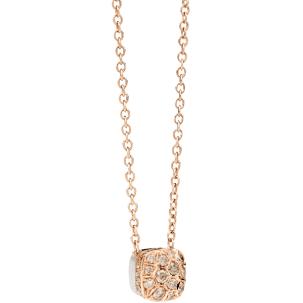 Nudo Pendant Chain with Diamonds
