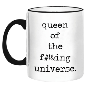 Queen Mug product shot front view