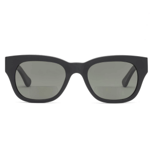 Miklos Sun Readers in Matte Black product shot front view