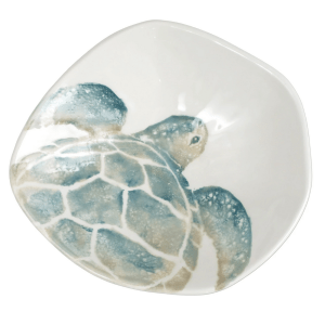 Tartaruga Serving Bowl product shot aerial view