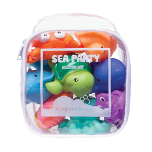 Sea Party Squirtie Bath Toys product shot front view