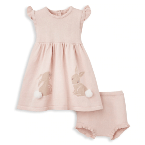 Dress with Bloomer Bunny - 6 Month