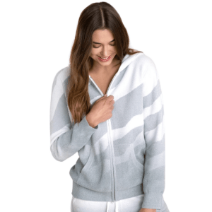 CozyChic Ultra Lite Ocean Reef Zip Up Hoodie