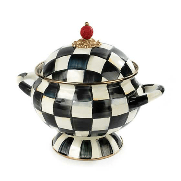 Courtly Check Tureen product shot front view