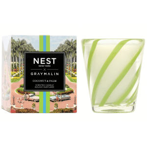 NEST x Gray Malin Coconut & Palm Classic Candle product shot