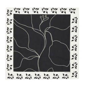 Lafayette 148 Drawn Leaves Scarf product shot front view