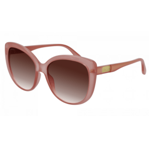Pink Frame Sunglasses product shot front view