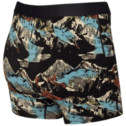 Boxer Briefs in Black Mountainscape product shot back view