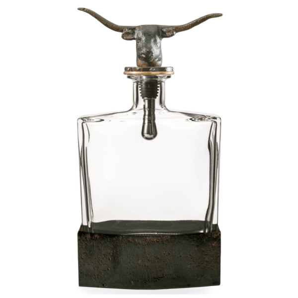 Nueces Decanter product shot front view