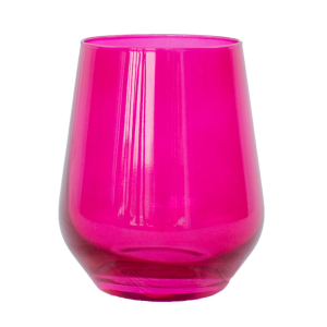 Estelle Fuchsia Stemless product shot front view