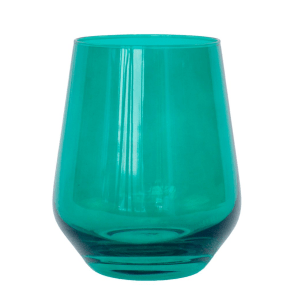 Estelle Emerald Stemless product shot front view