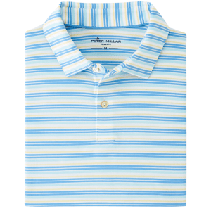Natural Touch Stripe Polo product shot front view