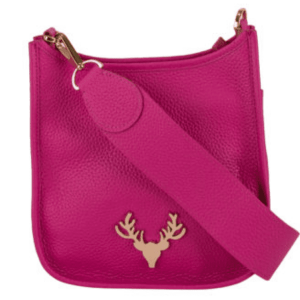 Sayre Mini Bag in Hot Pink product shot front view