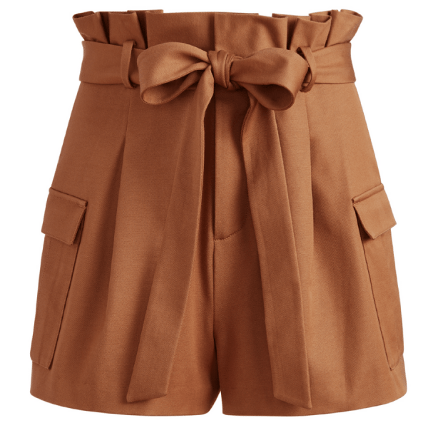 Laurine Paperbag Cargo Shorts