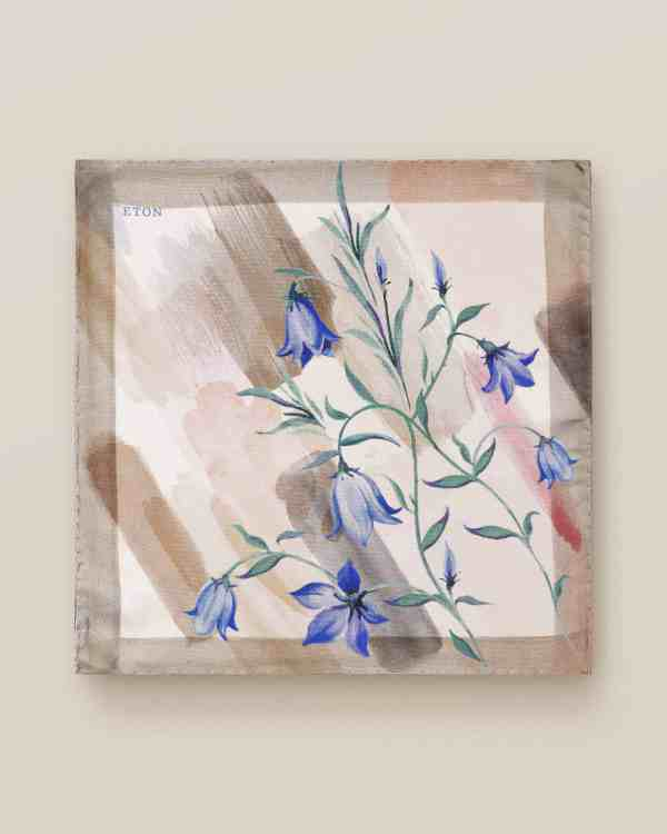 Bluebell Silk Pocket Square