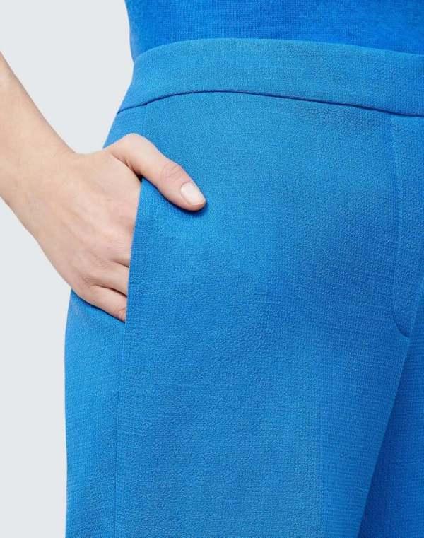 Dalton Wide Leg Pant in Ultramarine