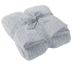 Cozychic Ribbed Throw in Ocean