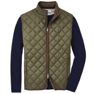 Essex Travel Vest in Olive