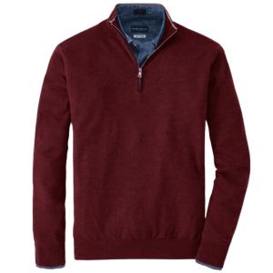 Excursionist Flex Quarter-Zip Sweater in Vermouth