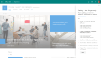 Create and use custom SharePoint site designs in Office 365