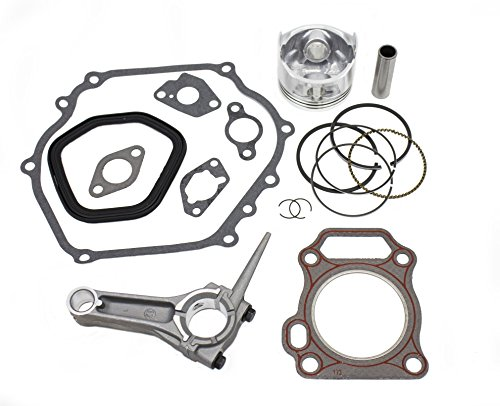 Everest Piston Kit with Connecting Rod and Full Gasket Set