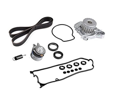 Timing Belt Water Pump with Vavle Cover Gasket Kit For