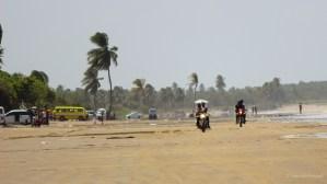 Bikers on the beach (63 Beach)...