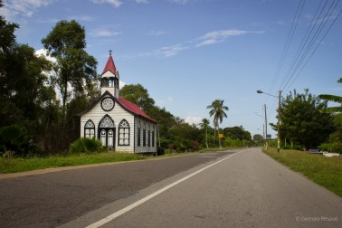 Church on the road side.