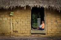 Simple life in the village