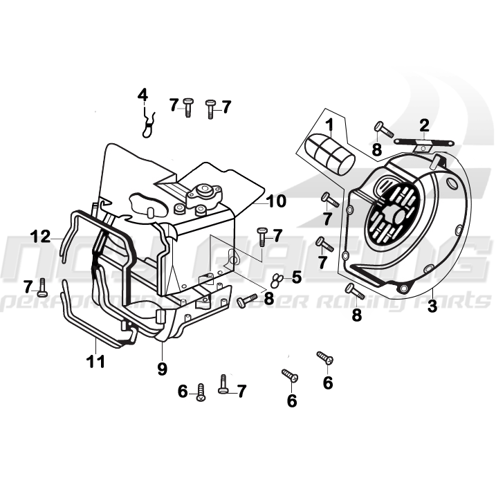 Yamaha Zuma Scooter Wiring Diagram