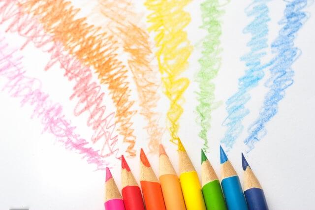 本日は色彩検定2級(3級)受検の日です!